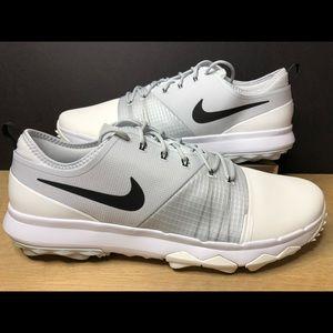 1b3420cb543a3 Nike FI Impact 3 Golf Shoes White Gray AH6960-100